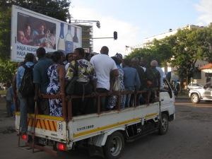 Public transit in Maputo