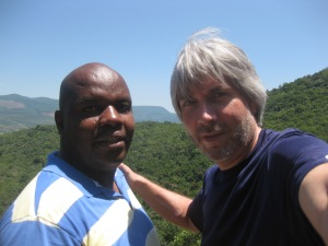 Me and Jackson just outside Nelspruit, South Africa.