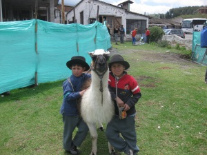 In the Ecuadorean mountains, near Otavallo